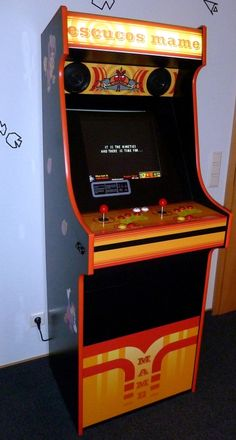 arcade automat bauen