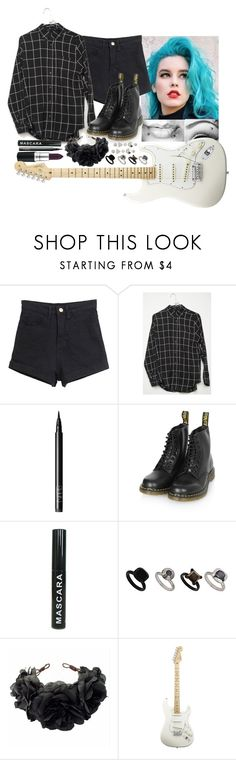 """""""[Concert in France w/the girls]"""" by purplemonkeys005 ❤ liked on Polyvore featuring NARS Cosmetics, Dr. Martens, Topshop, Rock 'N Rose, American Standard, ASOS and mandy"""