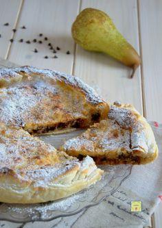 torta di sfoglia ricotta pere e cioccolato gp