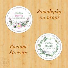 Samolepkové motivy na přání (Custom sticker designs) Sticker Designs, Bamboo Cutting Board, Custom Stickers, Decorative Plates, Personalized Stickers