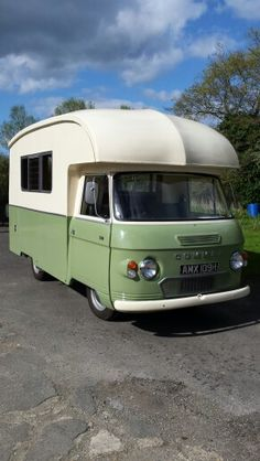 Commer Tourstar 1969. Following a two year restoration, my campervan is finally ready for more holiday adventures. Classic Campers, Retro Campers, Vintage Campers, Vintage Trailers, Vintage Motorhome, Camper Caravan, Motor Homes, Commercial Vehicle, Caravans