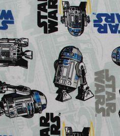 "Star Wars™ Flannel Fabric 42""-R2D2"