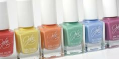 Lovely nail colors