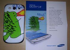 Samsung Canada Gives Fan Custom Galaxy SIII for Viral Hit