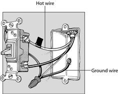 22 best light switch wiring images on pinterest electrical outlets rh pinterest com