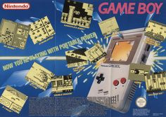 Nintendo Game Boy - Now you're playing with portable power!