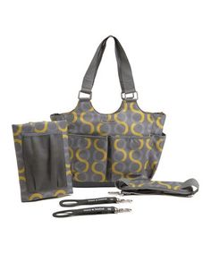 Sami Tag-a-Long Diaper Bag by timi & leslie #zulily #zulilyfinds