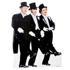 Three Stooges Photo Stand Up-is a great way to add three iconic celebrities to your Hollywood Prom guest list! Life-size stand up adds a true element of interest to Hollywood Prom decorations. Place the Three Stooges and other stand ups around your Hollywood Prom event space for random photo opportunities.