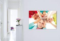 Kinderleichte Fröhlichkeit: http://www.cewe-fotobuch.at/produkte/wanddekoration/ #diy #wanddeko #kids