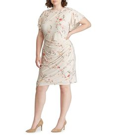 e14740be501 Ignite Evenings Plus Size Floral Print Tiered Dress in 2019 ...