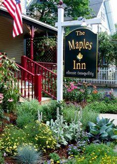 the Maples Inn in Bar Harbor, Maine   BedandBreakfast.com   Book Now!