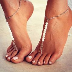 #pearls 💎 are always appropriate!😉 #barefoot #bodyjewelry  #ccfashionstreet #instacool