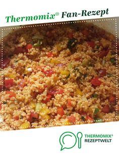 Tabouleh Salat von C.Gschwind. Ein Thermomix ® Rezept aus der Kategorie Beilagen auf www.rezeptwelt.de, der Thermomix ® Community.