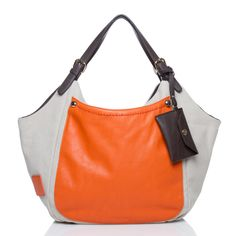 Show major SF Giants pride with this Montross hobo bag from Shoedazzle