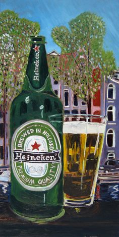 HEINEKEN in Holland Limited Edition Beer Art Print, $35.00