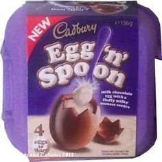 Easter Egg favourites Cadbury Egg and Spoon milk chocolate eggs Cadbury Milk Chocolate, Chocolate Heaven, Love Chocolate, Chocolate Explosion Cake, Cadbury Eggs, New Egg, Easter Snacks, Morrisons, Spoon