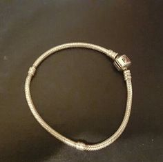 Pandora bracelet 7 1/2cm good condition Pandora Jewelry Bracelets