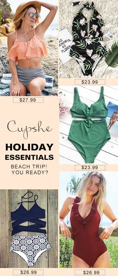 Live life on the beach. Treat yourself to the hottest items of the season. Celebrate beach party with chic high-quality swimsuits. Faster Shipping. Check it out.