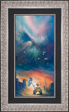 Limited Edition Disney Fine Art Legacy ''The Depth of Space and Love'' Wall•E Giclée on Canvas If only it wasn't $700.