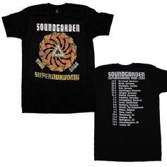 Soundgarden Superunkown Tour 94 Soft T-Shirt