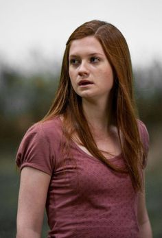 Ginny Weasley from the Harry Potter series