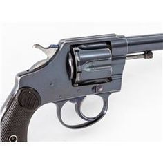 Early Colt Police Positive Double Action Revolver