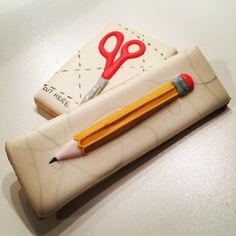 Great idea for back to school cookies!