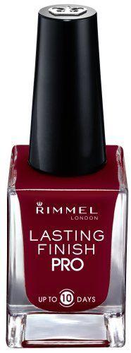 Rimmel Lasting Finish Pro Nail Enamel Burgundy Flirt