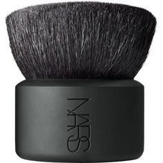 NARS Kabuki Botan Brush ($70) ❤ liked on Polyvore featuring beauty products, makeup, makeup tools, makeup brushes, fillers, beauty, brushes, black, apparel & accessories and no color