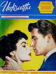 Elizabeth Taylor and Fernando Lamas