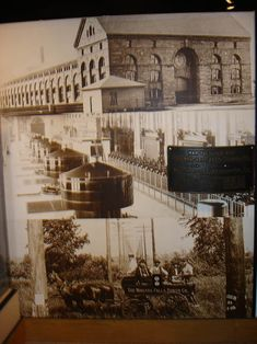 Above: Niagara Falls, New York - the first great hydroelectric power plant in the world, 1895.  This was the final victory of Tesla/Westinghouse Alternating Current over Edison's Direct Current.