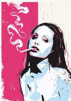 Angelina Pop Portrait