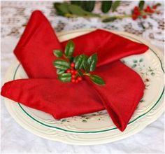 Top 10 Christmas Napkin Folding Tutorials - Top Inspired