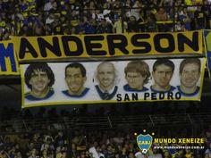 Copa Libertadores - Fecha 3 - La Bombonera - Banderas