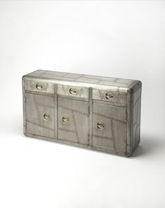 Corto 3 Drawer and 3 Door Console Cabinet