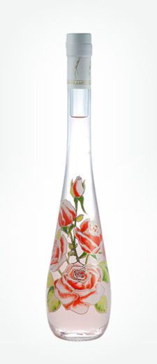 Gilbert Miclo's Rose Liqueur. Considered to be the finest rose liqueur produced. France.