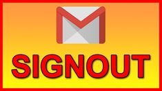 In this video we will show you how to easily disconnect and logout or signout sign out from a specific Gmail Email address connected to the Gmail app on your. Android Tutorials, Video Tutorials, Software, App, Videos, Beauty, Apps, Beauty Illustration