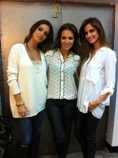 Sara Carbonero,Paula Echevarria y Ariadne Artiles
