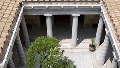 An ancient Grecian palace (villa Kerylos) | Melita InsulaMelita Insula
