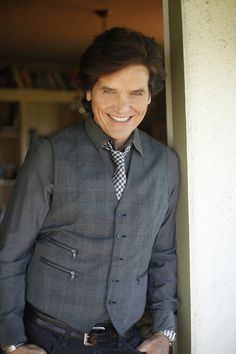 Looking good in a vest! Director of High Strung Movie, Michael Damian poses for a recent photo shoot for Soaps in Depth Magazine.