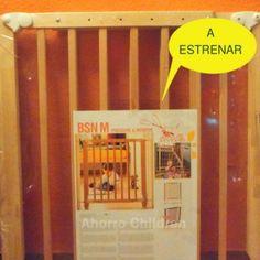 Barrera de seguridad para puerta o escalera 29.95€ NUEVA A ESTRENAR www.ahorrochildren.es