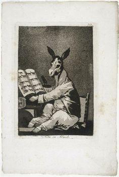 GOYA série de gravures 1799