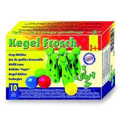 Small Foot Company 8166 - Boule Spiel - Kegel - Frosch: Amazon.de: Spielzeug