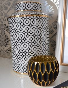 Designbyoccasion is loving her new Z Gallerie accessories! Styled with our Emilia Canister and Geo Votive.