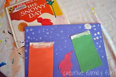 """The Snowy Day"" book and activity..."