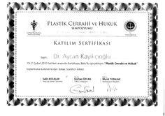 Plastik cerrahi ve hukuk sempozyumu 2010