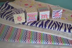 pink and purple burp cloths chevron burp by petitecouturedesigns