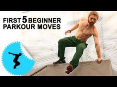 First 5 Beginner Parkour Moves - How To Get Started In Parkour - Ask The Tapps Parkour Workout, Parkour Moves, Kickboxing Workout, Parkour For Beginners, Yoga Routine For Beginners, Ninja Training, Combat Training, American Ninja Warrior, Martial Arts Techniques