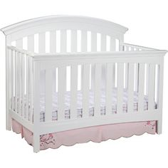 Delta Children's Products Bentley 4-in-1 Fixed-Side Crib, White