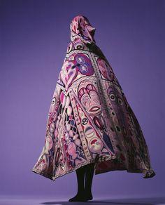 Emilio Pucci, Cape, 1964. Italy. ©The Kyoto Costume Institute, photo by Taishi Hirokawa